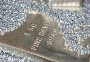 1KG Fein Silber Barren