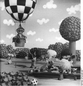 25. Geburtstag des Sandmännchens, Bild aus dem Bundesarchiv