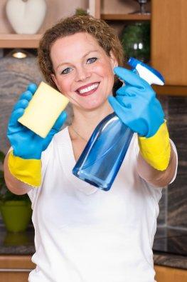 Abnehmen beim Putzen
