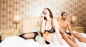Abtörner und Lustkiller - Telefonieren während der Partner wartet