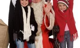 Adventszeit - Die Kinder freuen sich auf den Nikolaus