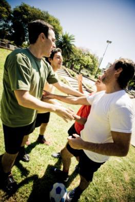 Aggressivität im Sport - die Hormone kochen hoch