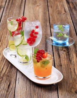 Alkoholfreie Drinks für die Party