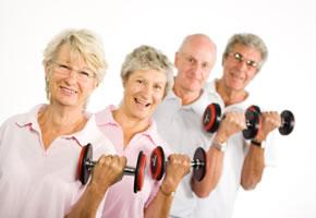 Allgemeine Fitness ist auch für Senioren wichtig