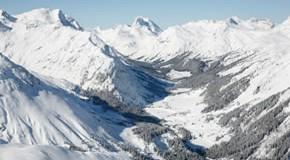 Die Alpen in Arlberg