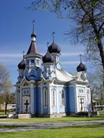 Alte Orthodoxische Kirche in Druskininkai