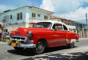 Altes Auto in Kuba Havanna