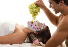 Anti Aging Food und Gesichtsmaske