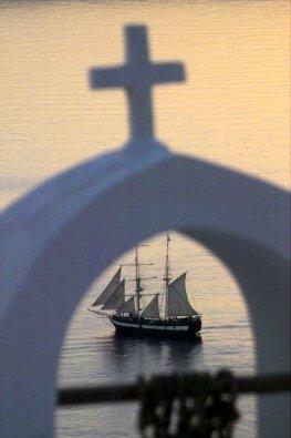 Antikythera Mechanismus - ein römisches Handelsschiff sinkt in der Ägäis