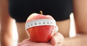 Die Apfel Diät lässt die Pfunde purzeln.