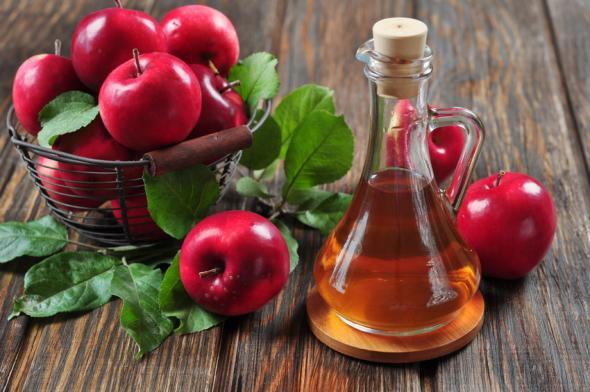 Apfelessig ist eine gesunde Sache.