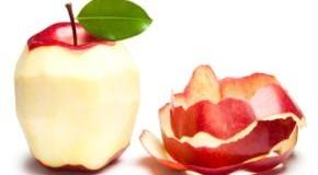 Apfelschalen enthalten Flavonoide die den Blutdruck senken