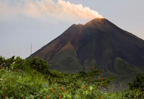 Arenal Vulkan auf Costa Rica