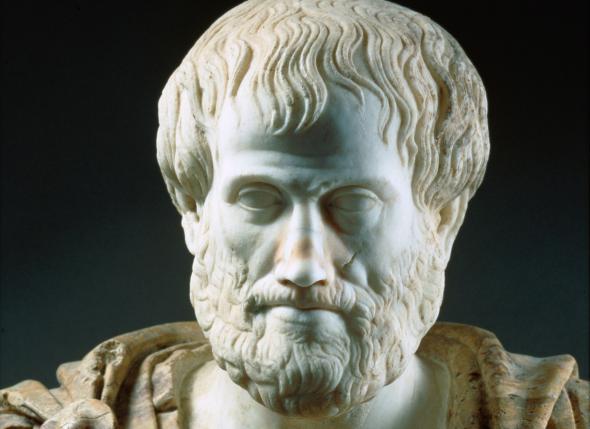 Der  Philosoph Aristoteles beherrschte die Rhetorik wie kein anderer.