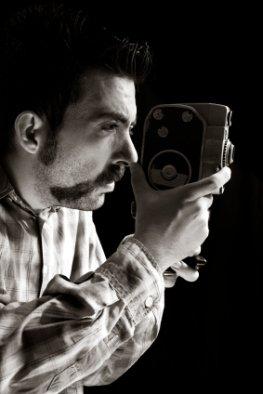 Art House-Filme - Kameramann beim filmen