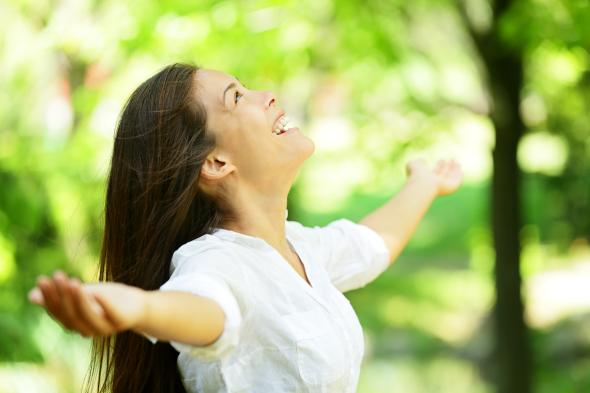 Eine Atemtherapie kann gegen viele Krankheiten helfen.