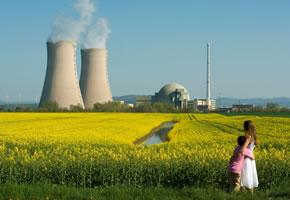 Ein Atomkraftwerk, eine nicht mehr Zeitgemäße Energiegewinnung