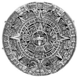 Der Azteken-Sonnen-Kalender aus Stein