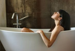 Badewanne: Entspannung vom Alltagsstress