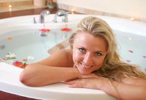 Entspannung in der Badewanne