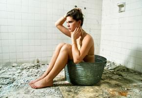 Badezimmer die keinen Flair haben