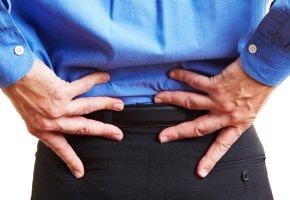 Bandscheibenvorfall - Starke Rückenschmerzen