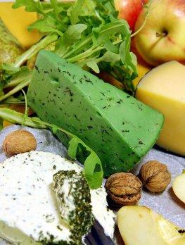 Basiron - Wasabi-Käse mit anderen Weichkäse-Sorten
