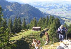 Bayerische Alpen: Wanderung auf den Alpspitz