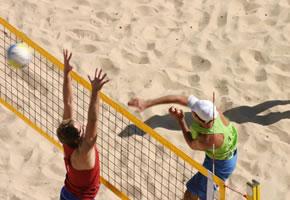 Beachvolleyball - Sonne, Strand und viel Spass