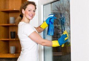 Frühjahrsputz - beim Fenster putzen verliert man 83 Kcal