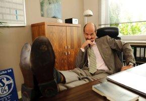 Bernd Stromberg in seinem Büro