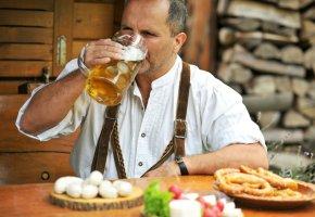 Bier ist in Bayern ein Nahrungsmittel