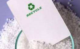 Plastikgranulat das recyclebar ist