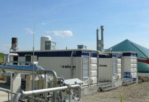 Biogasaufbereitungsanlage in Kißlegg-Rahmhaus verarbeitet die Speisereste