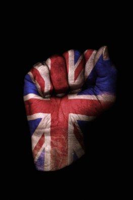 Das British Empire - die Union Jack Flagge