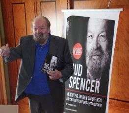 Bud Spencer in Berlin zur Vorstellung seines zweiten Teils seiner Autobiografie