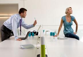 Ein Streit zwischen Kollegen