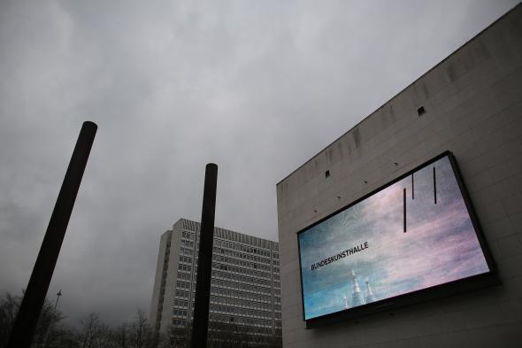 Die Bundeskunsthalle Bonn in der Außenansicht.