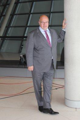 Interview: Bundesumweltminister Peter Altmaier im Berliner Reichstag