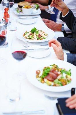 Business Lunch - Gäste bewirten