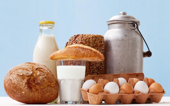 In Milch ist genügend Calcium enthalten, um den Calciumbedarf eines Menschen zu decken.