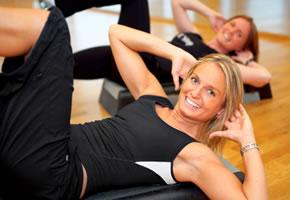 Übungen mit Callanetics