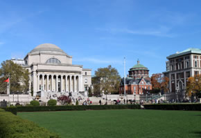 Campus der Columbia University in New York