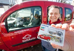 Car-Sharing  beim Anbieter Teilauto