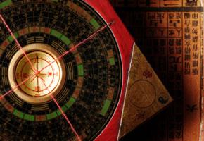 Chinesischer Feng Shui Compass