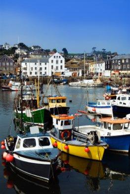 Cornwall - Mevagissey Fishing Village