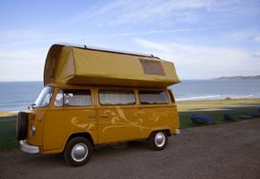 Cornwall mit dem VW Bus unterwegs