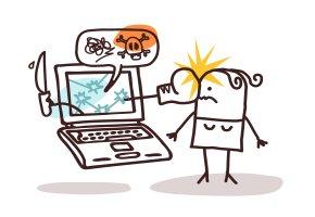 Cybermobbing: Beleidigungen und Bedrohungen durch das Internet