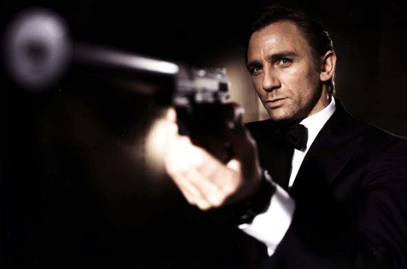 Filmszene: Daniel Craig alias James Bond in Casino Royal.