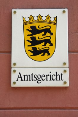 Das Amtsgericht in Deutschland
